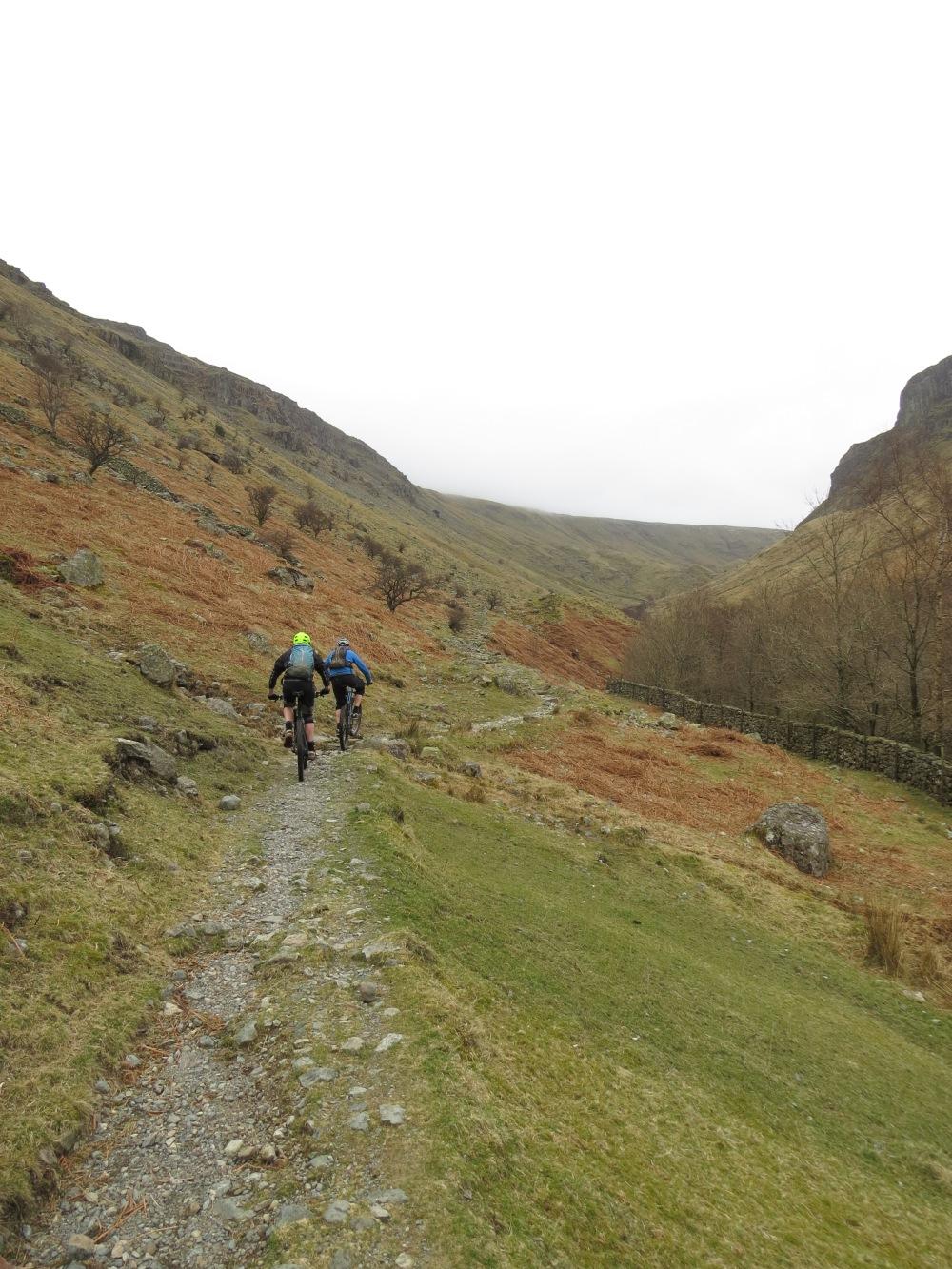 Nice climbing out of Stonethwaite