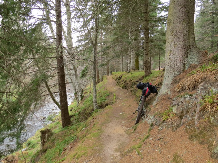 Findhorn singletrack