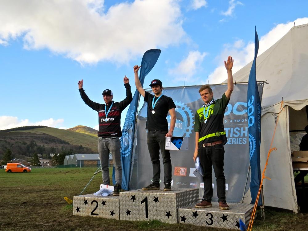 Senior podium: 1st Greg Callaghan; 2nd Gary Forrest; 3rd Mark Scott