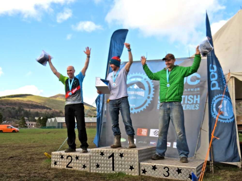 Vets podium: 1st Crawford Carrick-Anderson; 2nd Patrick Bruce; 3rd Justin Grice