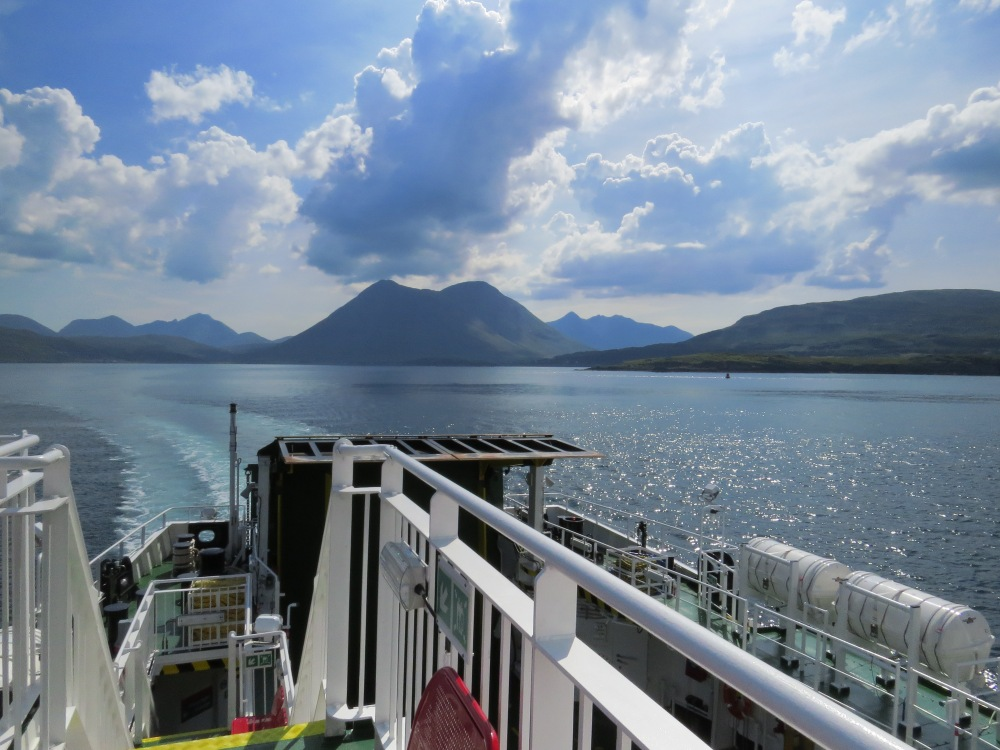 On the ferry to raasay, an island adventure for the price of a fish supper.