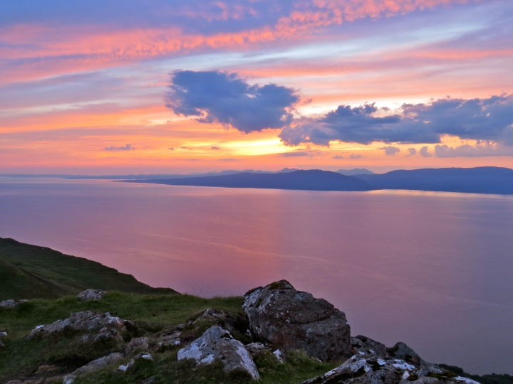 Dawn over Applecross