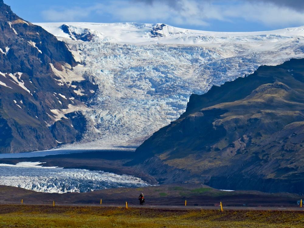 Approaching Vatnajokull