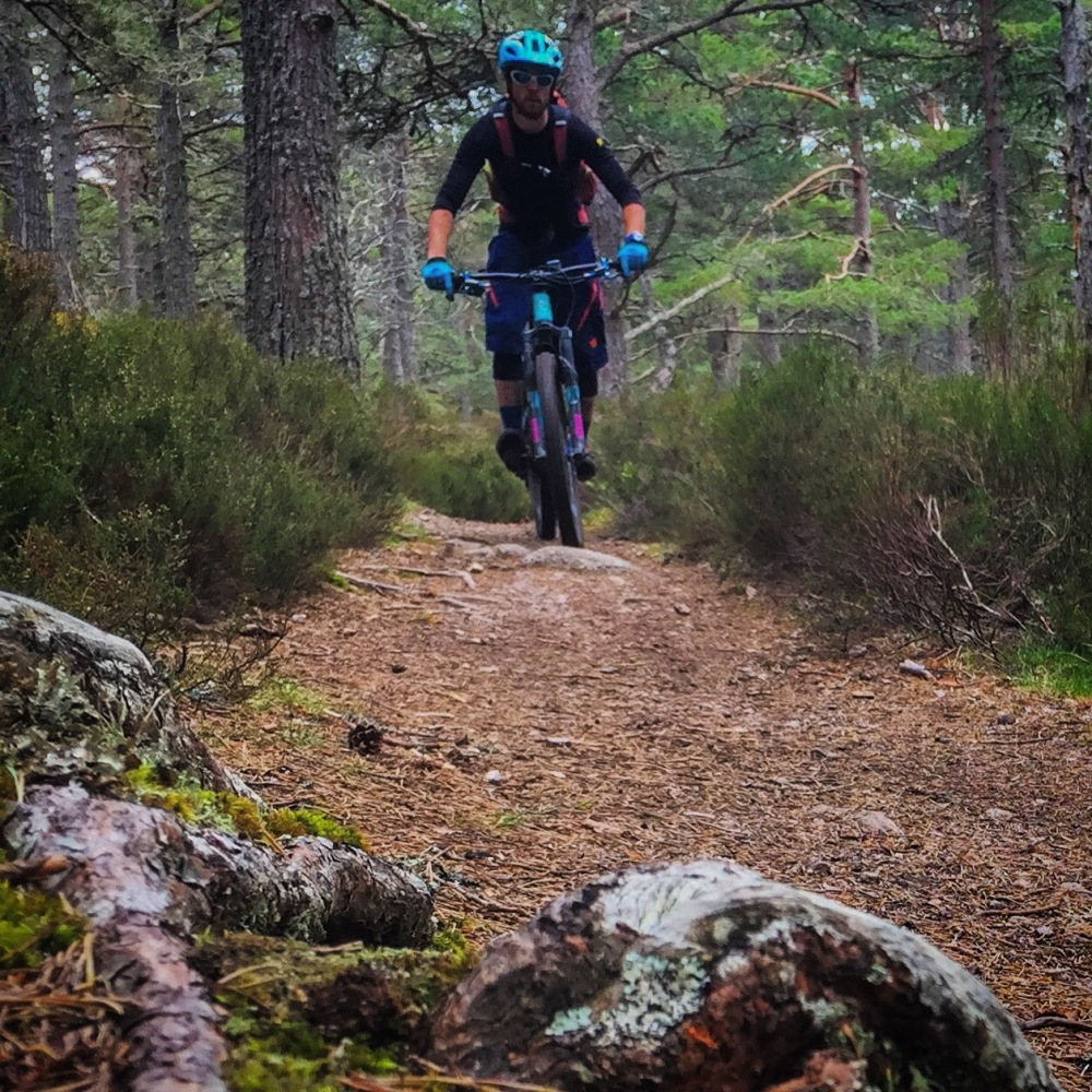 Cairngorms singletrack - could be worse!
